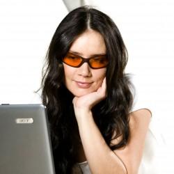 Blue-Blocker Brille Rom