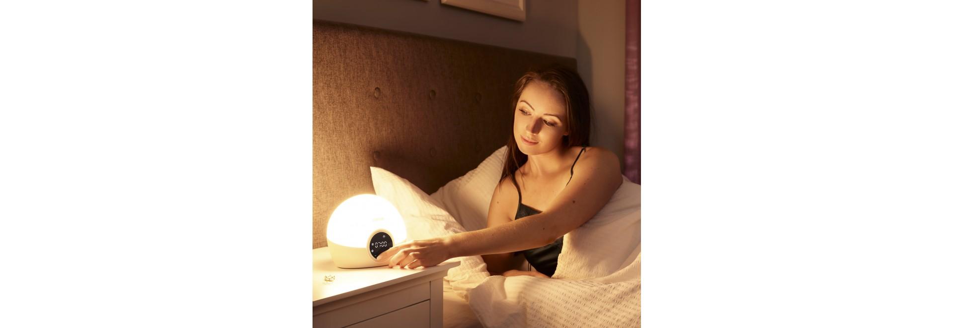 Lichtwecker sonnenaufgangssimulator - lichttherapie - Medi-Lum