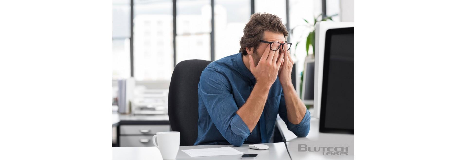 lunettes blue-blocker - travail pc - sommeil - medi-lum